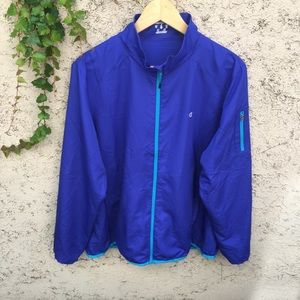 Champion Dual Toned Blue Windbreaker